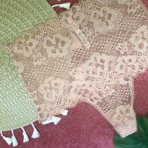 Victoria's Secret High Waist Lace Thong Panty
